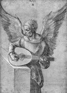 albrecht-durer-winged-man-playing-lute